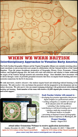 When We Were British Webinar Flyer